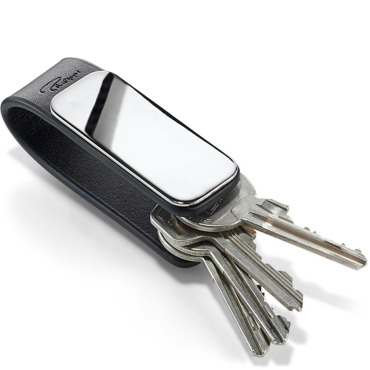 Bardzo dobra Brelok skórzany do kluczy Patent Philippi | sklep internetowy MA83