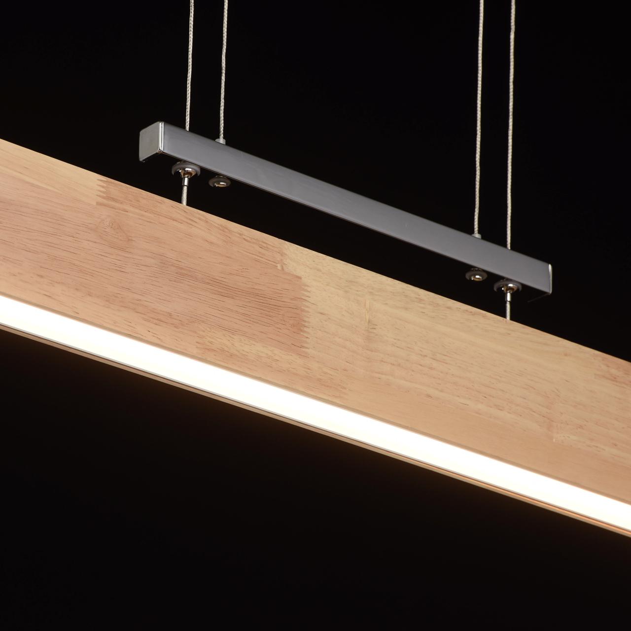 elegancka lampa wisz ca do jadalni led drewno chrom sklep internetowy. Black Bedroom Furniture Sets. Home Design Ideas