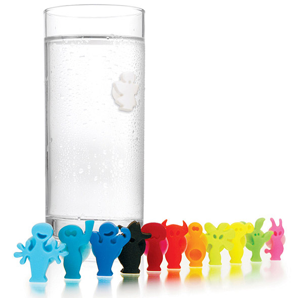 Identyfikatory szklanek i kieliszków PARTY