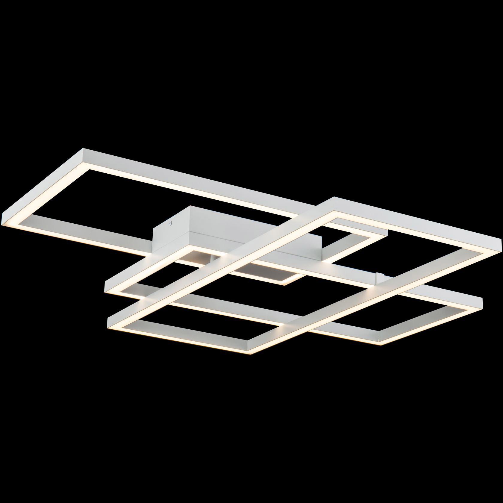 Lampa sufitowa proste, białe linie LED Line Maytoni
