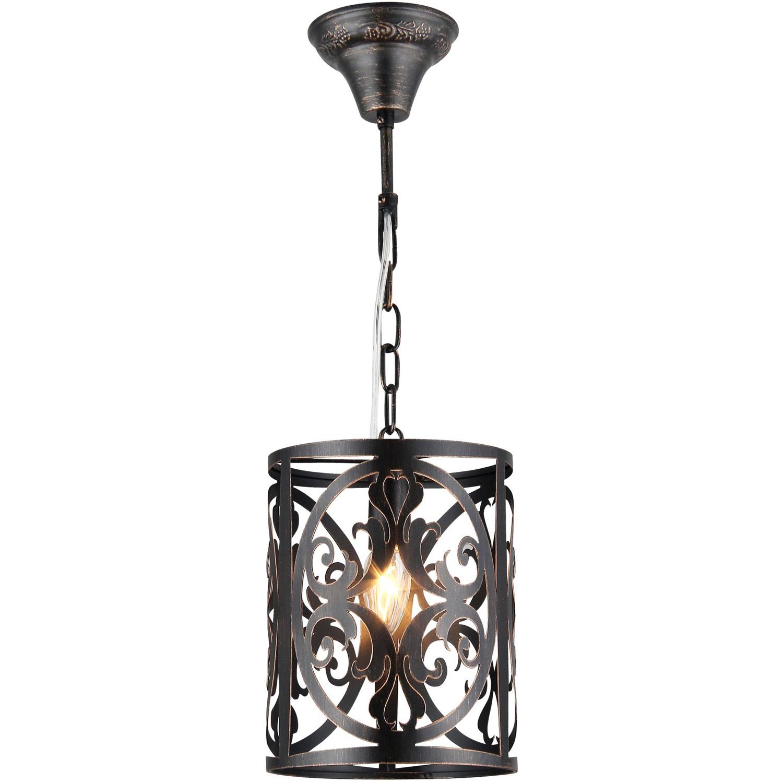 Lampa wisząca rustykalna, brązowa ramka dekoracyjna Rustika Maytoni Classic