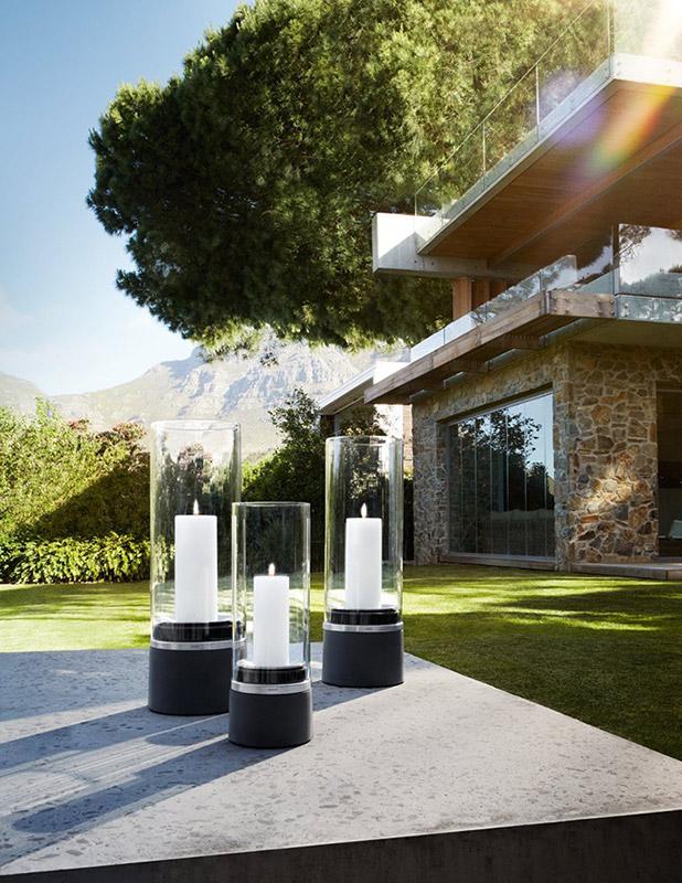 latarnia ze wiec blomus piedra 33 cm sklep internetowy. Black Bedroom Furniture Sets. Home Design Ideas