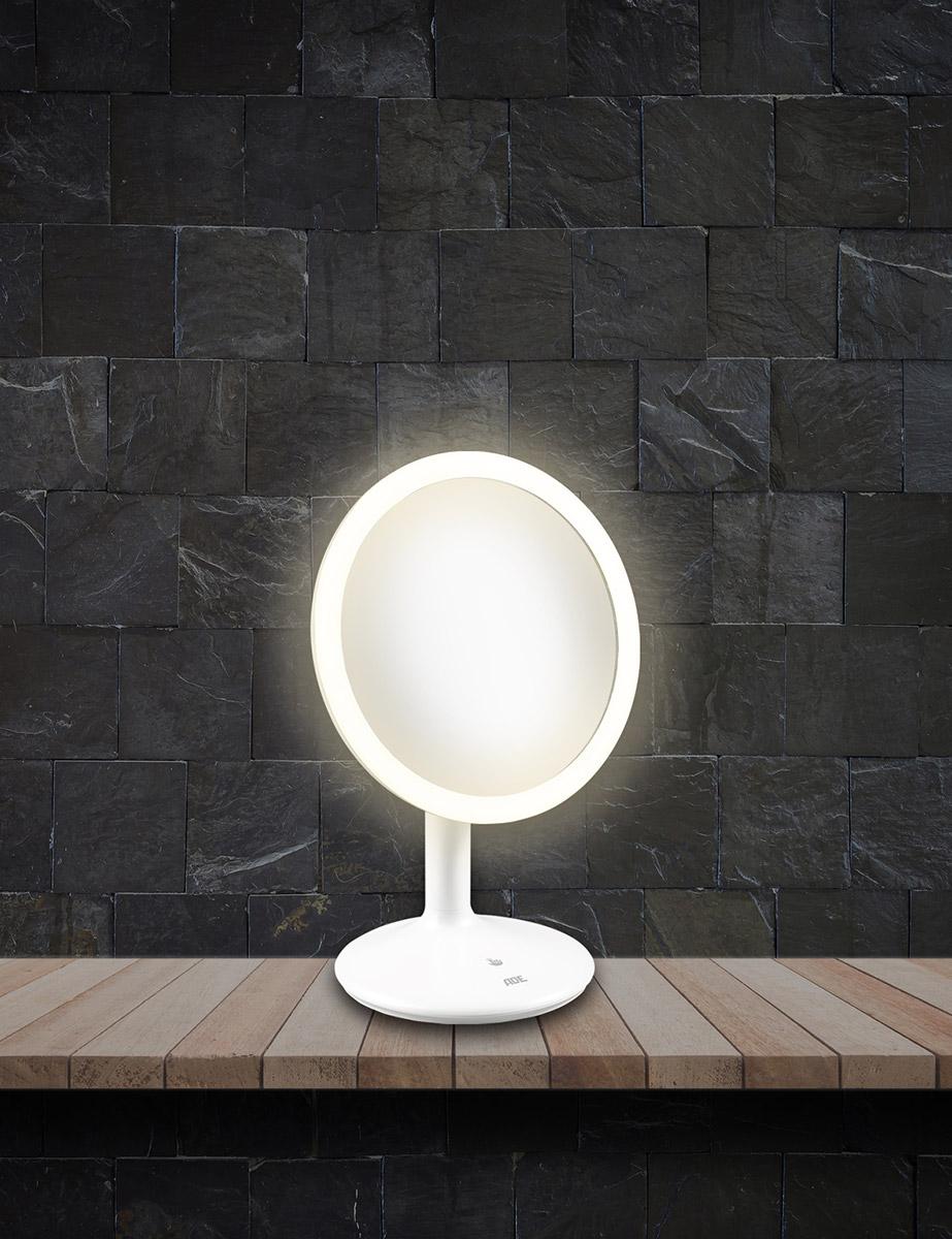 Lustro Powiększające Do łazienki Z Podświetleniem Led I Akumulatorem