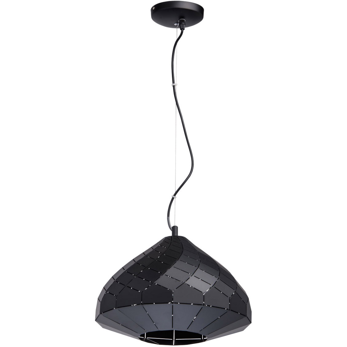 Metalowa Lampa Wiszaca Do Jadalni Regenbogen Loft Czarna Sklep