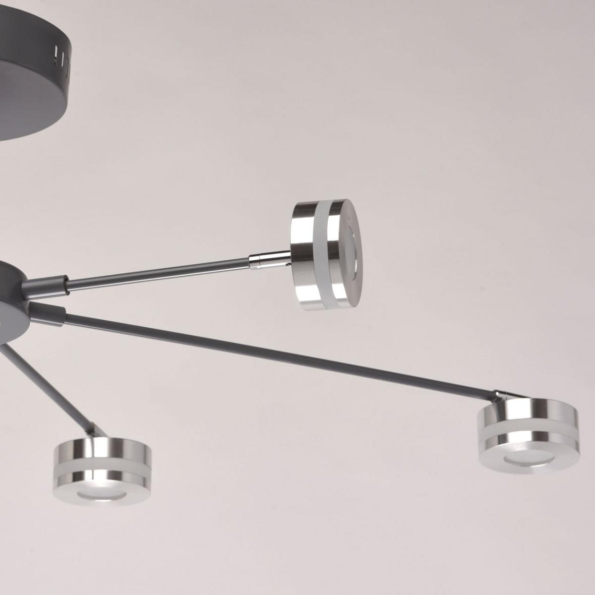 Nowoczesna Lampa Sufitowa Led Na 6 żarówek Regenbogen Techno Sklep