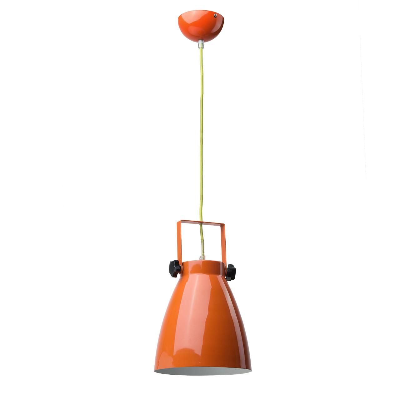 Nowoczesna pomarańczowa lampa wisząca RegenBogen
