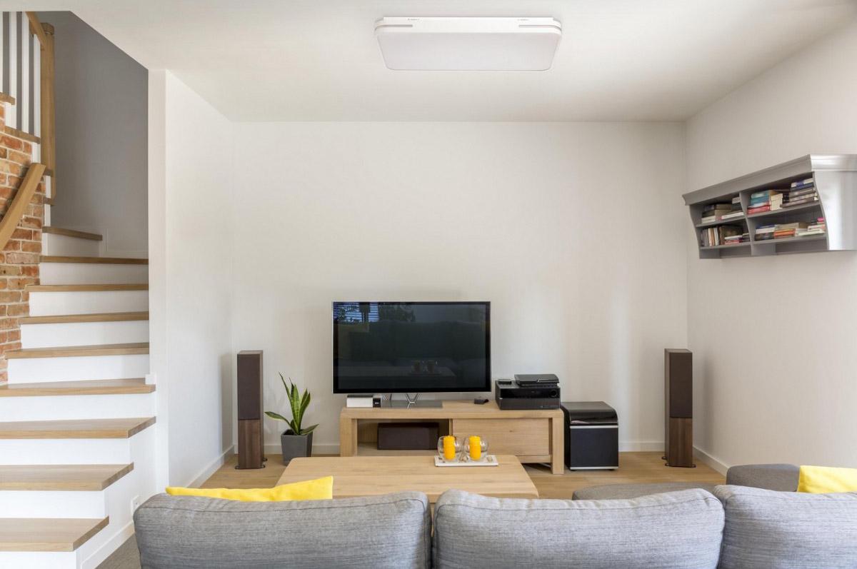plafon azienkowy led 38x68 cm ze zdalnym sterowaniem mw. Black Bedroom Furniture Sets. Home Design Ideas