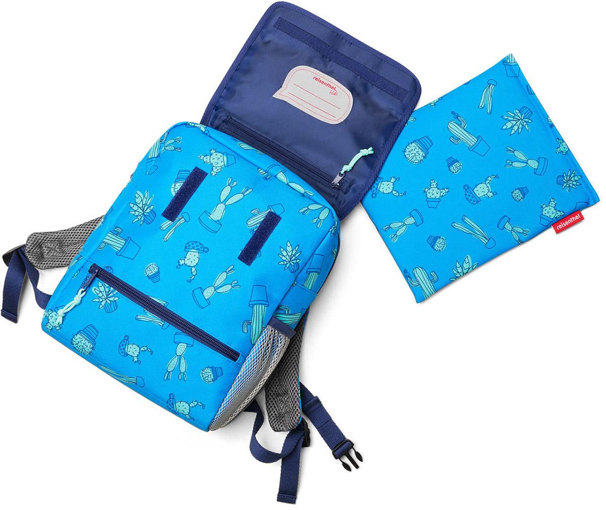914a0427ed04f Plecak dla dzieci Backpack Cactus Reisenthel niebieski