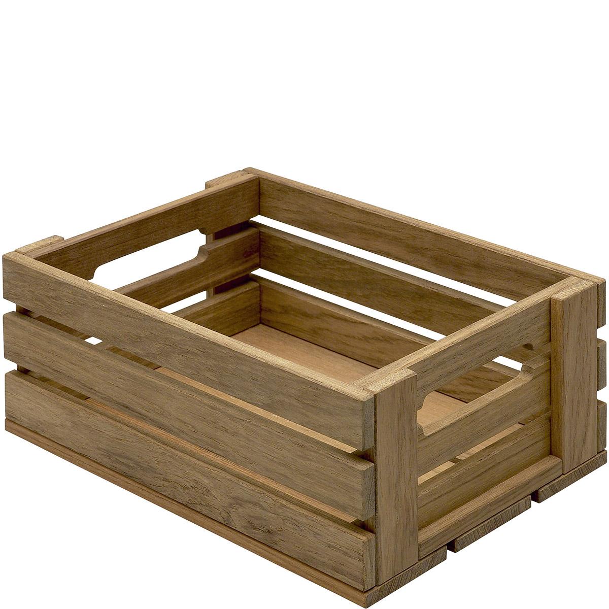 Skrzynka drewniana - idealna dekoracja do ogrodu