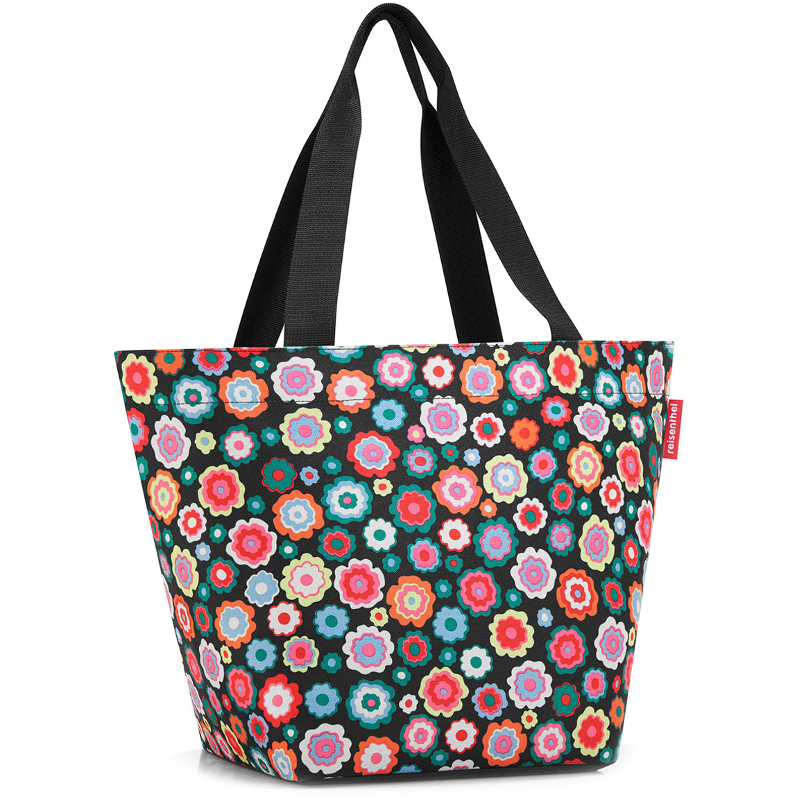 07e83750062c3 Torba na zakupy Reisenthel Shopper M Happy flowers | sklep ...