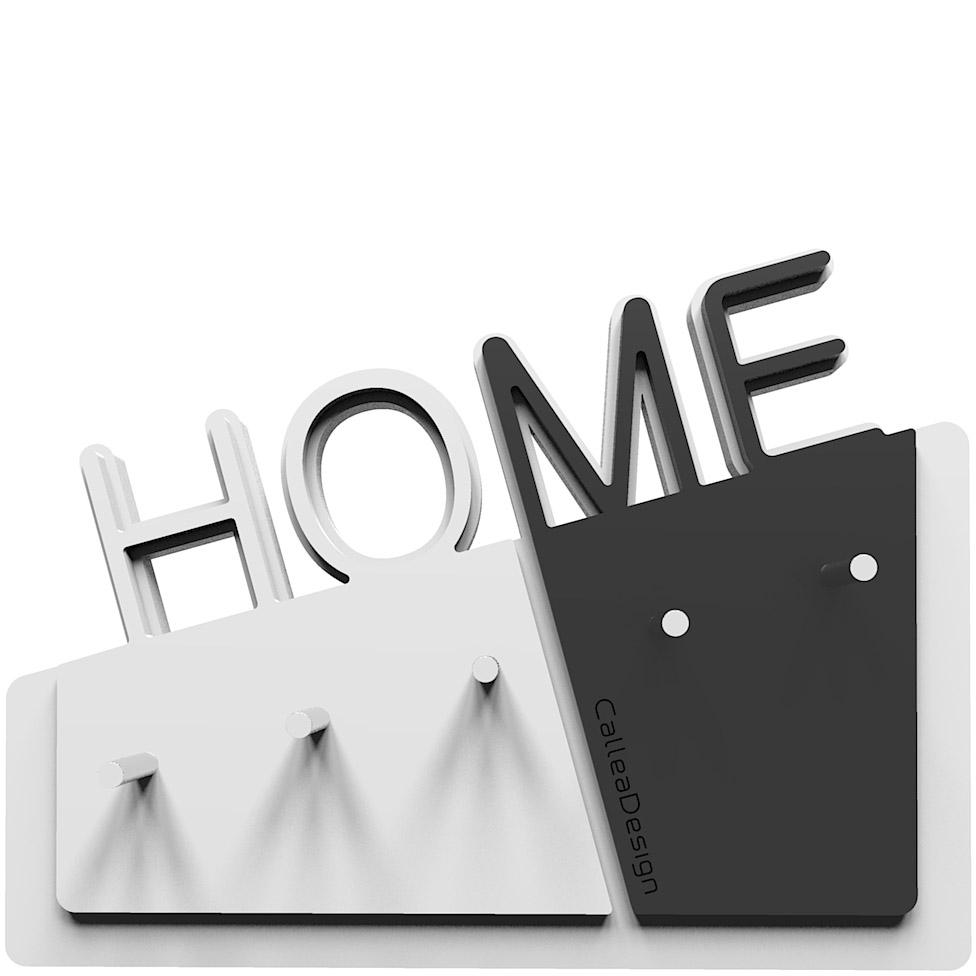 Wieszak na klucze home calleadesign bia y czarny sklep internetowy Home design sklep online