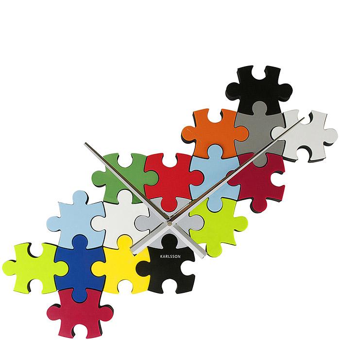 Zegar ścienny Do It Yourself Puzzle Karlsson KA5058 ...