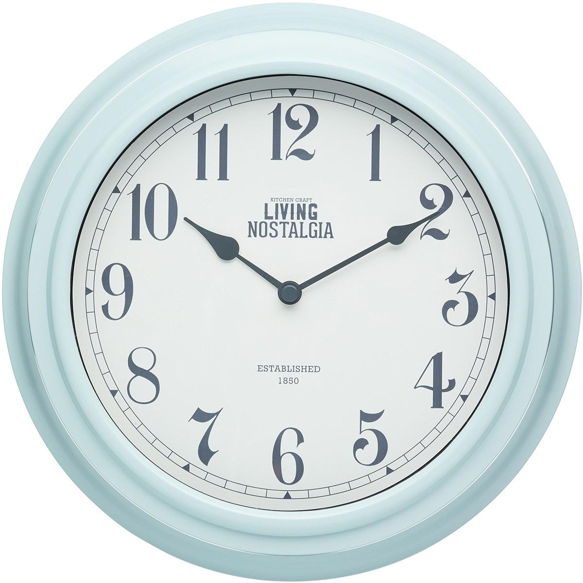 Zegar ścienny Kuchenny Kitchen Craft Miętowy