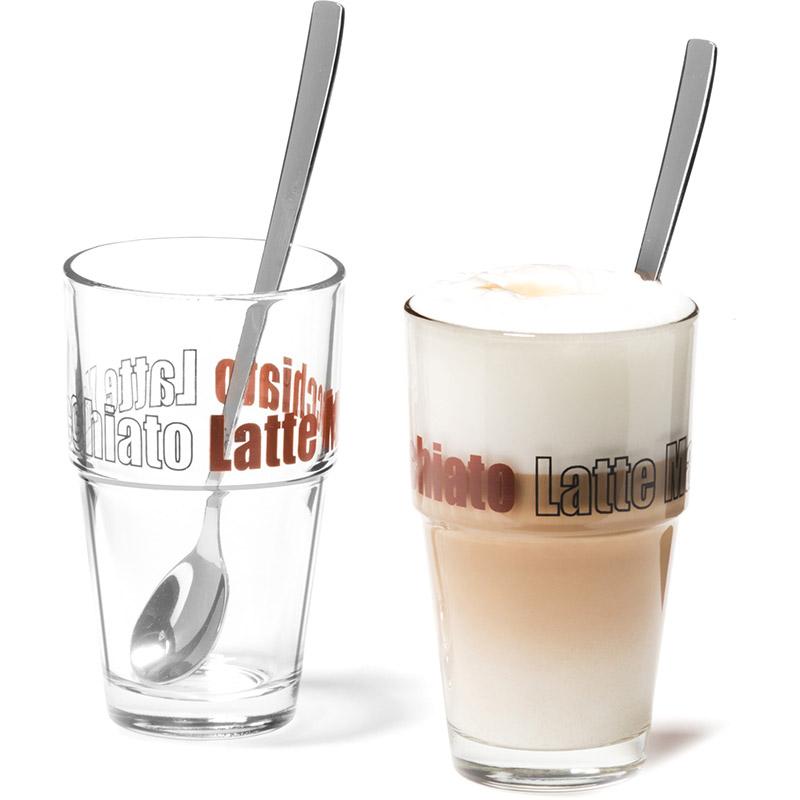 zestaw do caffe latte macchiato solo leonardo sklep. Black Bedroom Furniture Sets. Home Design Ideas